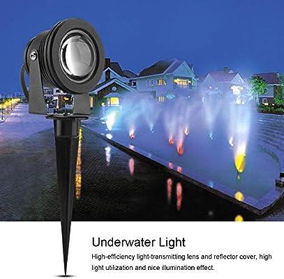 Semme Luz subacuática, Luces de Piscina 10W 12VAC RGB Luz de ...