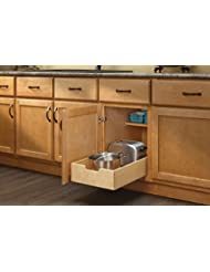 Amazon.com: Wood - Pull-Out Organizers / Cabinet & Drawer ... on kitchen cabinet doors replacement, kitchen cabinet slide out storage racks, kitchen corner cabinet pull out shelves, kitchen cream cabinets with glaze,