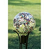 Carson, Multi Flowers 10'' Gazing Ball