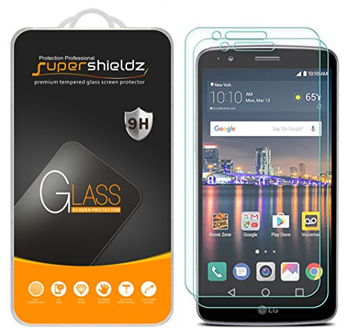 Supershieldz for LG Stylo 3 Tempered Glass Screen Protector