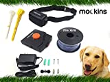 mockins Underground Electric Dog Fencing System, Safe For Pets | Multiple Dog Operation with 1 Rechargeable Collar, Easy Installation, Fully Customizable –– Covers Over 50,000 Square Feet … … … … …