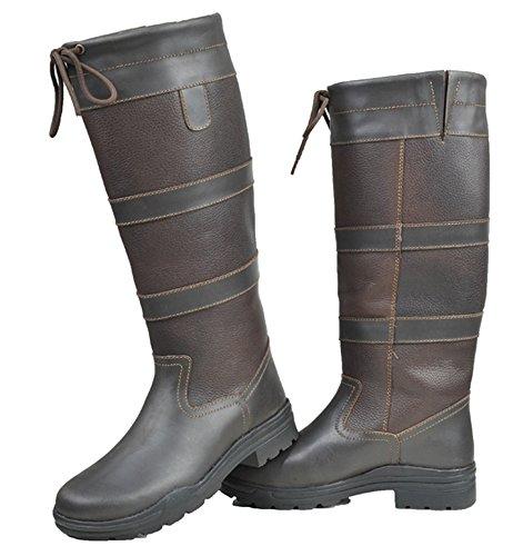 HKM–Botas de Fashion Belmond Invierno de membrana Marrón - marrón oscuro