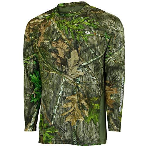 Mossy Oak Men's Long Sleeve Vented Hunt Tee