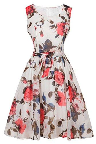 Empire Waist Flirty Party Dress - 7