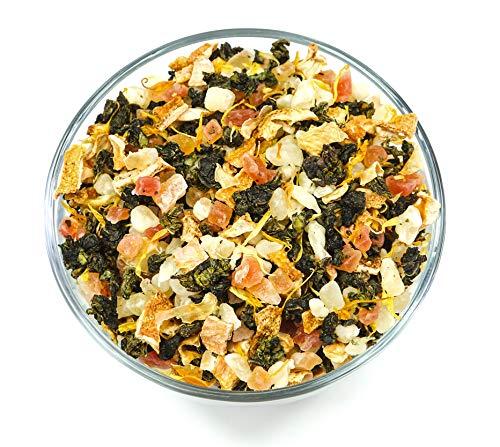(Kona Oolong - Oolong tea blend with Pineapple, Papaya fruit, citrus peel and natural pineapple flavored Tea. -2 Oz (20 Cups) (2 Oz))