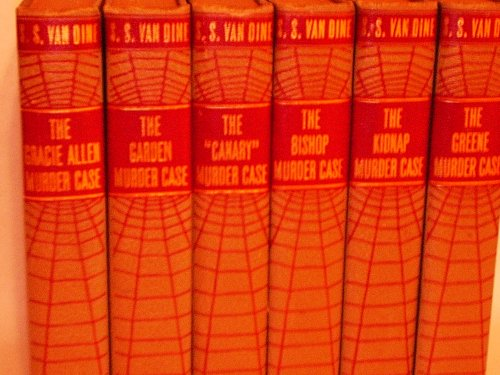 Philo Vance Murder Series (5 Volume Set) the Gracie Allen Murder Case, the Garden Murder Case, the