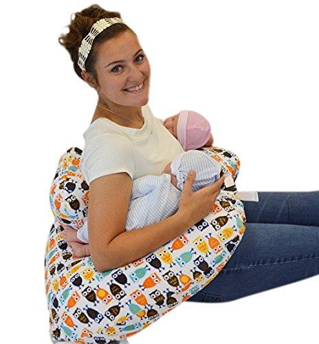 【最安値】 Twin Bag! Z Pillow + Cover 1 Designer PIllow OWL Cover + FREE Travel Bag! by Twin Z PIllow B01LXU6YA9, 熊野黒潮本舗:b44b52c5 --- a0267596.xsph.ru