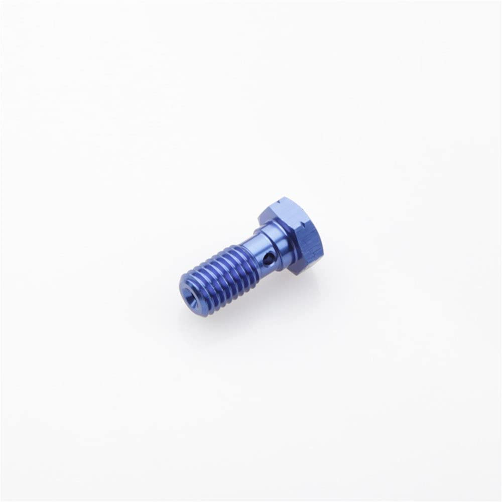 Banjo Bolt M12 x 1.25 Black Aluminium Brake Fitting Adaptor