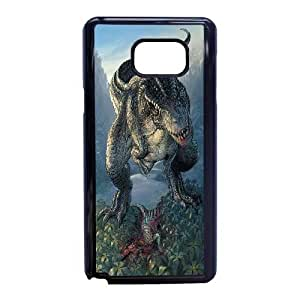 Samsung Galaxy Note 5 Phone Case Black Dinosaur Character Aladar WQ5RT7549109