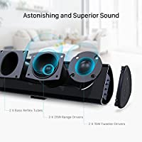 100Watt 40 Inch Soundbar, BYL Sound Bar Wireless and Wired Audio Bluetooth TV Speakers with Learning Function (2018 Beef Up Version, 60 Days Home Trial) from BYL