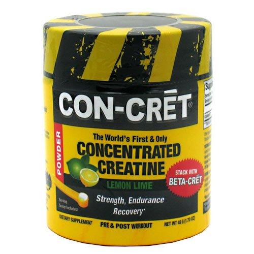Con-Cret concentré de créatine en poudre, chaux de citron, 48 portions, à partir de ProMera santé