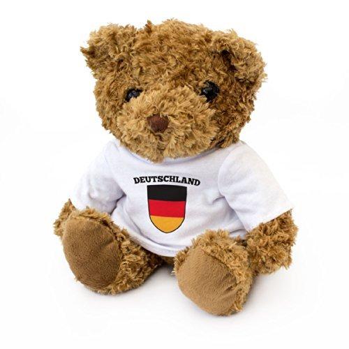 NEW - German Flag Teddy Bear - Cute And Cuddly - Germany Fan Gift Present Deutschland