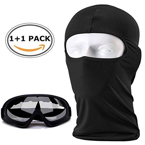 Balaclava Ski Face Mask,Outdoor Windproof Ski Face Mask Motorcycle Cycling Bike,with Anti Fog Ski...