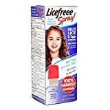 Licefreee Spray, Instant Head Lice Treatment Spray Bottle With Metal Comb, 6 Ounce