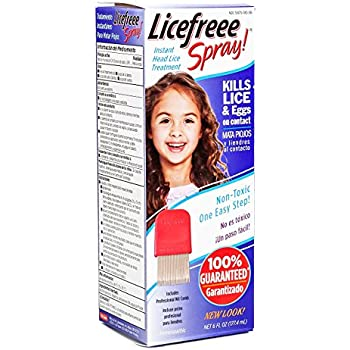 Amazon.com: Licefreee Spray, Non-Toxic Head Lice Treatment