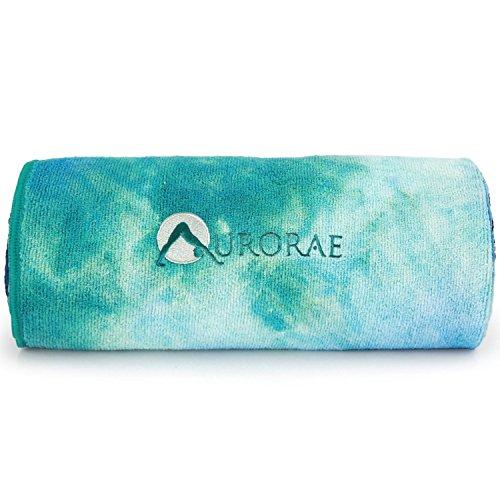 Aurorae Slip Microfiber Yoga Towel