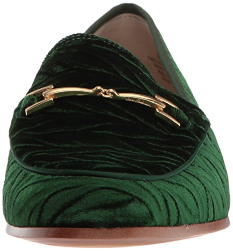 Edelman Loafer Women's Velvet Loraine Sam Emerald OqaFnTfaw