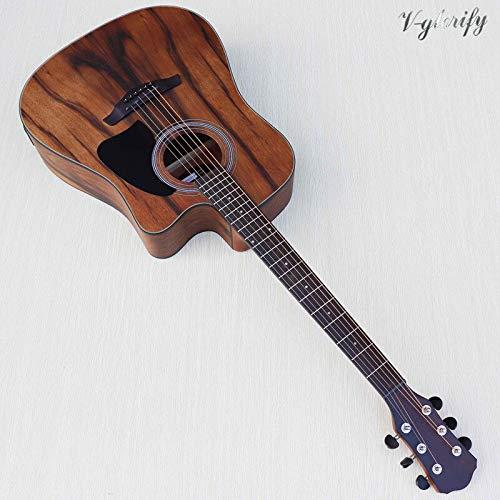 Guitarra eléctrica acústica con función de afinador EQ, 41 ...