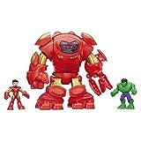 iron man super hero - Playskool Heroes Marvel Super Hero Adventures Stark Tech Armor with Tony Stark Figure