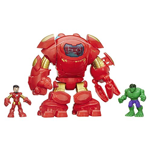 Superhero Iron Man (Playskool Heroes Marvel Super Hero Adventures Stark Tech Armor with Tony Stark Figure)