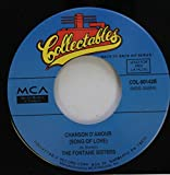 The Fontane Sisters / The Shirelles 45 RPM Chanson D''AMour (Song Of Love) / I Met Him On A Sunday (Ronde-Ronde)