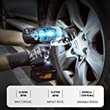 20V Cordless Impact Wrench with