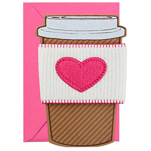 Hallmark Signature Mother's Day Greeting Card (Removable Coffee Cup Sleeve)