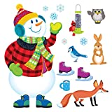 Trend Enterprises Super Snowmanbulletin Board Set (T-8127)