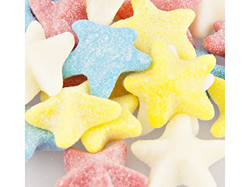 Sour Gummi Sea Stars 1 Pound Bag - Bulk Sour Gummi Candy -