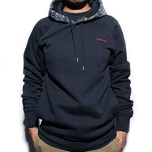 Nike Mens Air Jordan 5 Pull Over Hooded Sweatshirt Black/Gym Red 821905-010 Size Medium by NIKE