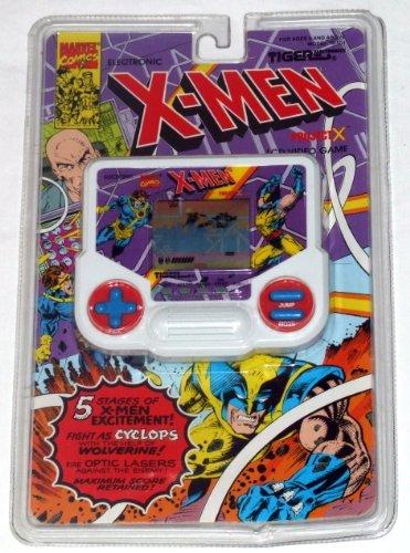 Marvel Comics X-Men Project X Electronic Handheld Game - Tiger Electronics