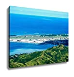 Ashley Canvas, Aerial View Of Oahu Island In Hawaii, Home Decoration Office, Ready to Hang, 20x25, AG6403180