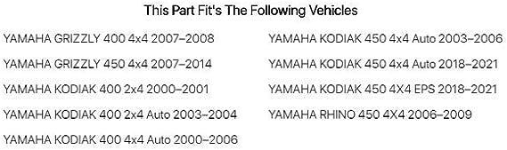 Fits Tusk Top End Gasket Kit Yamaha KODIAK 450 4X4 EPS 2018-2019