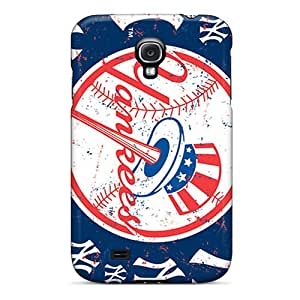 IanJoeyPatricia Samsung Galaxy S4 Durable Hard Phone Covers Customized High Resolution New York Yankees Series [tvr5360yuSR]