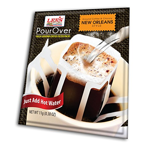 Amazon Com Lee S Coffee Pourover Fresh Ground Filter Packs New
