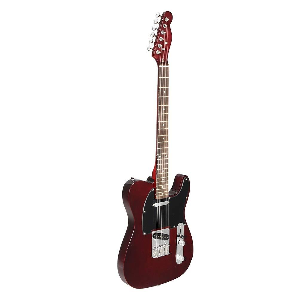 HKHJN 24 trastes TL guitarra eléctrica Vintage ASH Cuerpo de arce ...