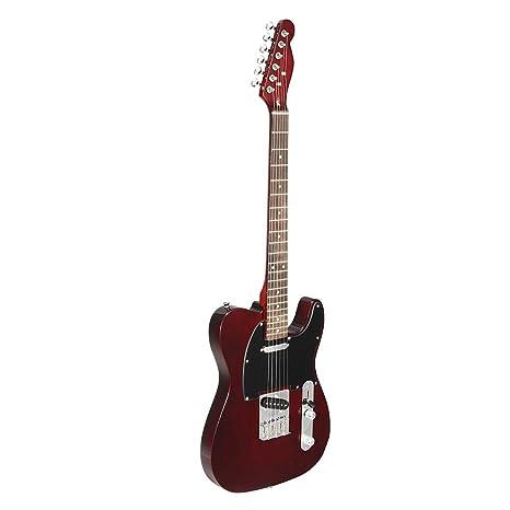 Taihang 24 trastes TL guitarra eléctrica Vintage ASH Cuerpo de arce Instrumento musical de diapasón de
