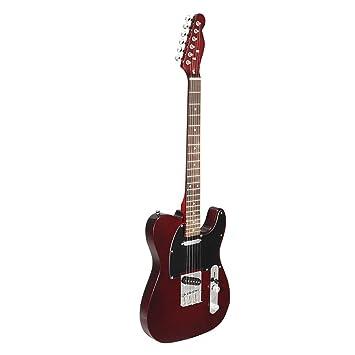 24 trastes TL Guitarra Eléctrica Vintage ASH Cuerpo de Arce Rosewood Diapasón Instrumento de Música –