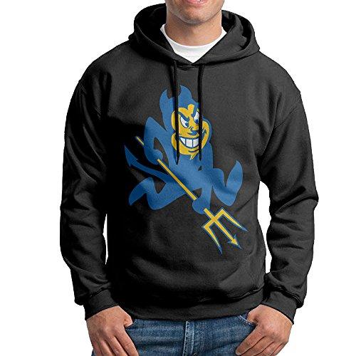 MEGGE Duke University Blue Devils Men's Sweater Shirt Black XXL