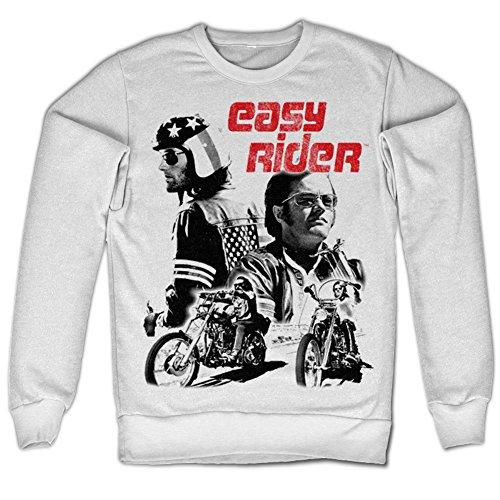 Easy Rider Sweatshirt (White)