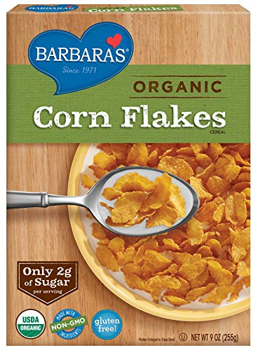 Barbara's Bakery Organic Corn Flakes Cereal, 9 Ounce (Pack of 6)