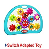 Switch Adapted Toy Busy Gears | Adaptive Toys | Special Needs Switch Toys | Switch Toys