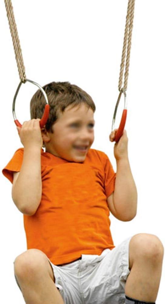 Columpio El Presente Fuerza Hijos de los Anillos Ejercicio de Brazo Juegos al Aire Libre Equipo de la Aptitud Escolar del Juguete de Goma Inicio Pull ups cumpleaños SHIJINHAO