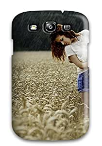 Protective Tpu Case With Fashion Design For Galaxy S3 (mood)