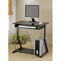 Hillsdale Elegant Rich Black Computer Desk