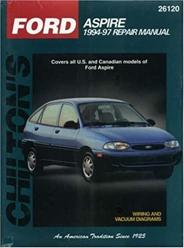 ford aspire 1994 98 chilton s total car care repair manual rh amazon com 1994 Ford Aspire Water Pump Repai 1994 Ford Aspire Water Pump Repai