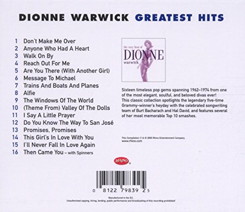 Very Best Of Dionne (GH) by Rhino (Image #1)