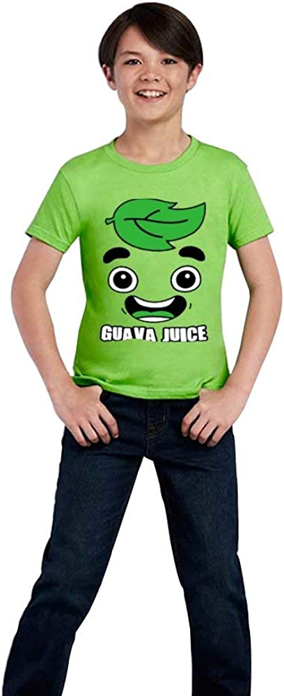 Boys and Girls Guava I Love Juice T-Shirts Youth Fashion Tops