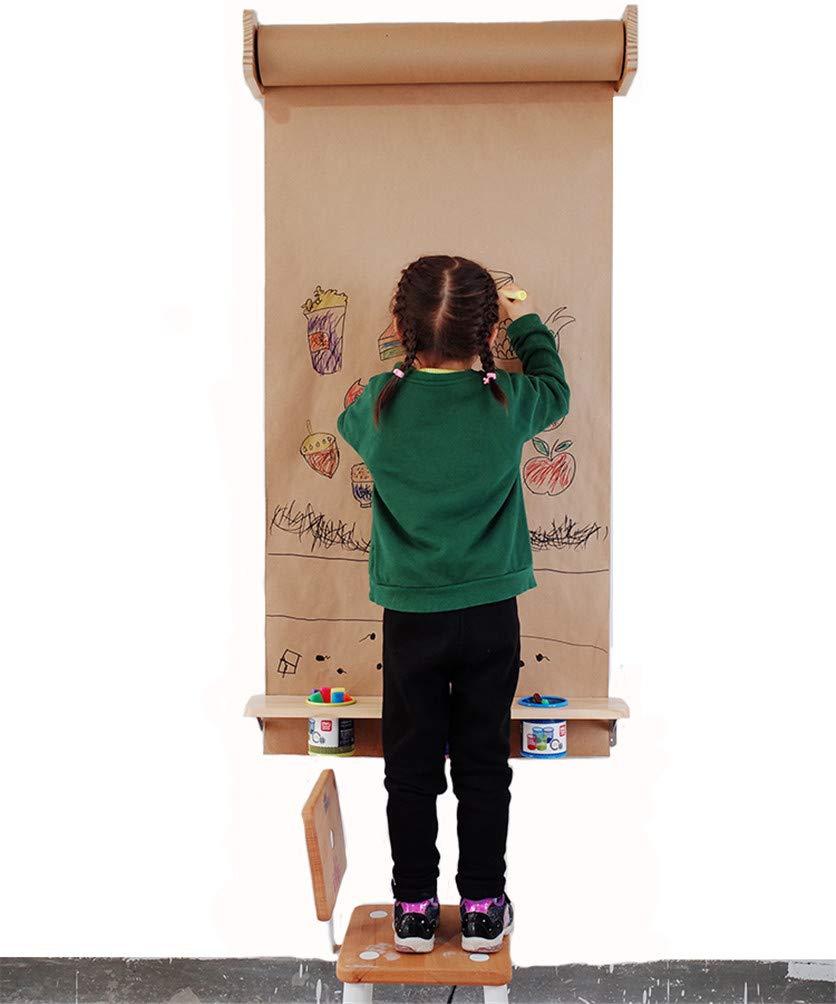 Braune An Der Wand Befestigte Kraftpapierrolle, StudiowandaufhäNgerolle Papier, 100% Recycelte Materialien, Geschenkpapier, DIY Geschenkverpackung, Lebensmittelverpackung,45cm 80GRollpaper B07MFJCHZ5 | Zu einem erschwinglichen Preis