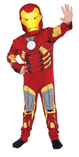 Disfraz Iron Man™ para niño - 7-9 años: Amazon.es: Juguetes y juegos
